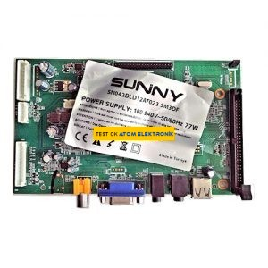 12AT022, Sunny TV Main Board