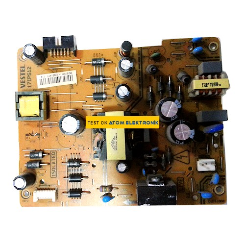 17IPS12 23281031 27451477 Vestel TV  Power Board