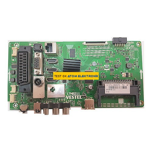 17MB211, 23430075, Vestel Main Board