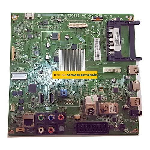 715G6165-M02-00-005N, (WK 1343) E0A02B46T Main Board
