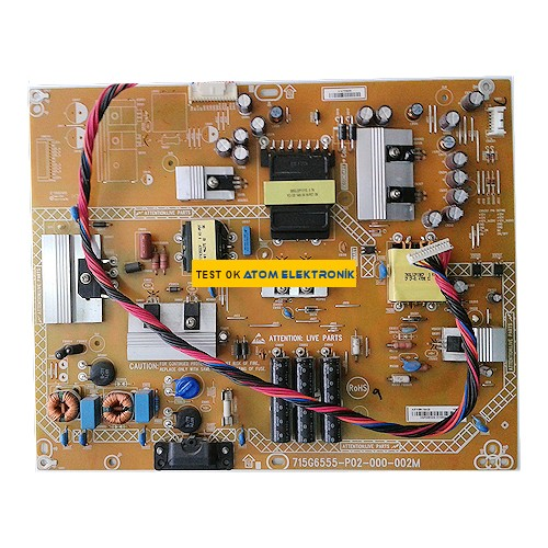 715G6555-P02-000-002M Philips Power Board
