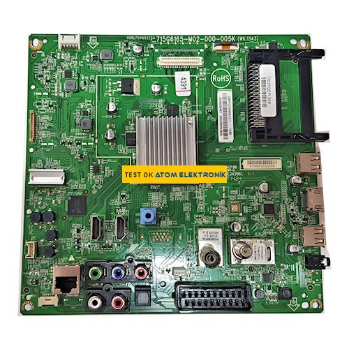 715G6165-M02-000-005K Philips Main Board