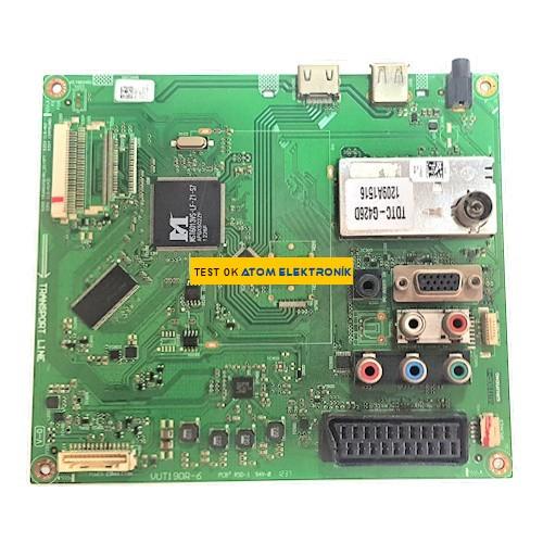 VUT190R-6 PCB2-1247 TDTC-G426D Arçelik Main Board