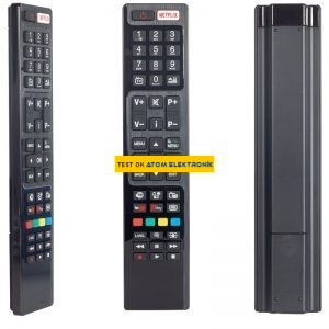 Vestel RC4848F RC5 30094759 Netflix-Youtube-Play Tuşlu Lcd-Led Tv Kumanda