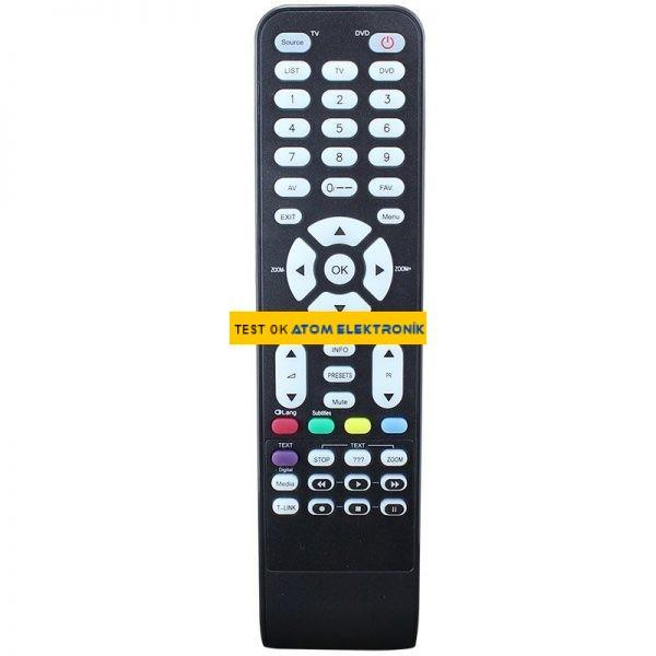 Arçelik-Altus RC1994925 DVD'li Lcd Tv Kumandası