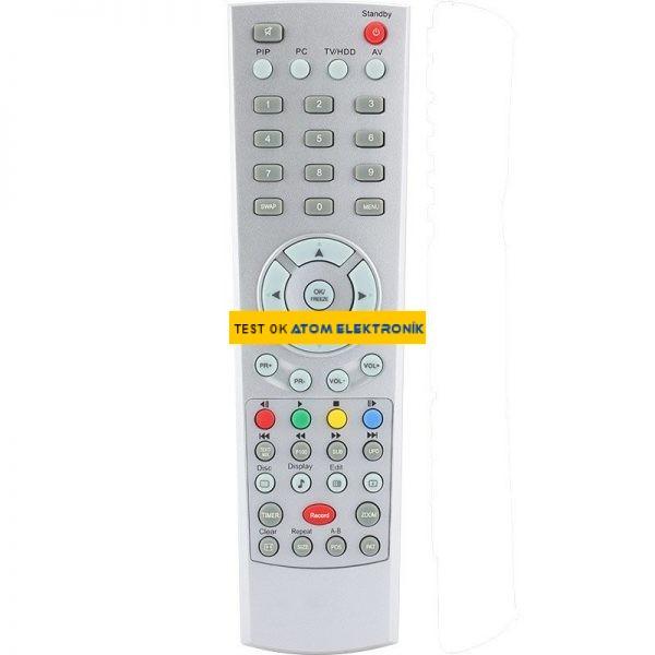 Arçelik – Beko Dvd'li Lcd Tv Kumandası