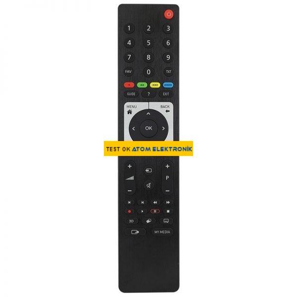 Beko TS4187R-2 3D Metalik Guide Tuşlu Lcd Led Tv Kumandası