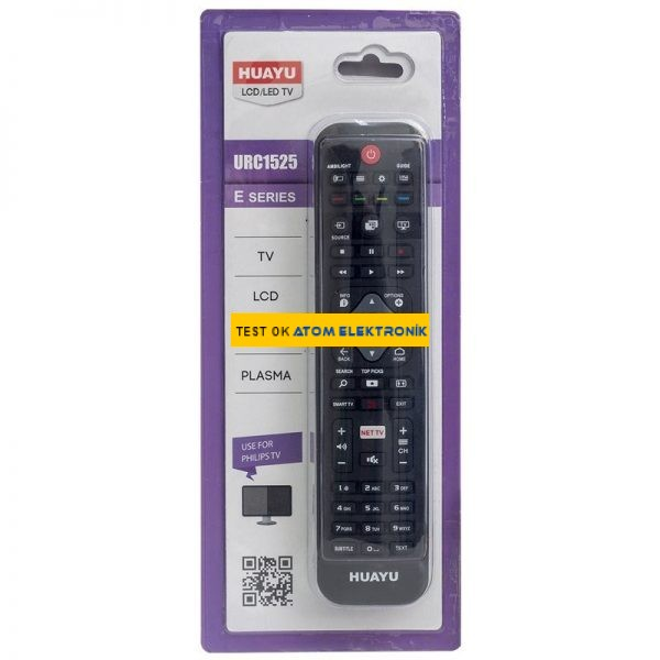 Huayu URC1525 Philips Net Tv Tuşlu Universal LCD-LED Tv Kumandası