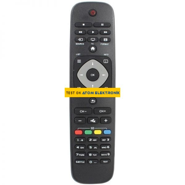 Philips RM-L1125 3D Universal Lcd-Led Tv Kumandası