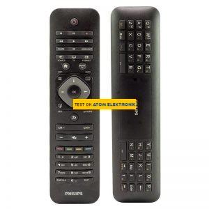 Philips TVRC51312/12 YKF315-Z01 Klavyeli Tv Kumandası
